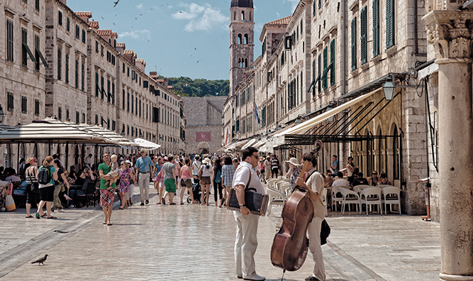 Dubrovnik people image