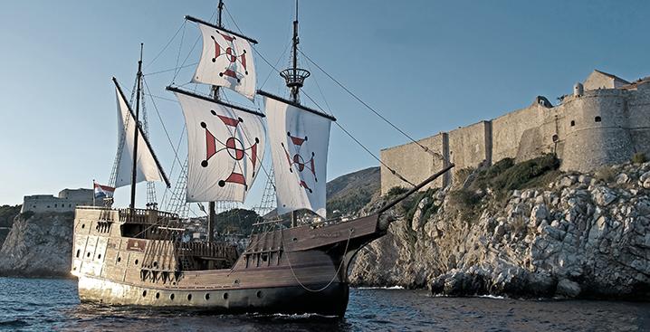 dubrovnik boat image